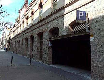 Parking Puerto de Barcelona